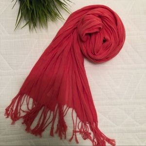 Gap Coral Colored Scarf